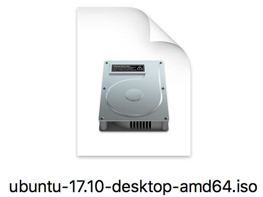 Bestandsicoon van Ubuntu 17.10